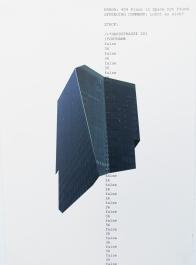 Error 402, Druck auf Papier, 29.7 x 42.0cm