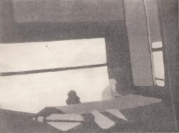 Staub VI, Kaltnadelstich/Aquatinta, ca. 10x15 cm
