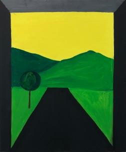 Übergang III, 2018, Oil on Canvas, 50 x 70 cm