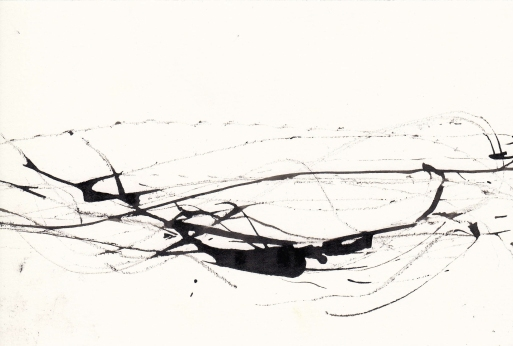 Untitled, Ink on Paper, 29.7 x 42.0 cm