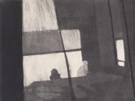 Staub VIII, Kaltnadelstich/Aquatinta, ca. 10x15 cm