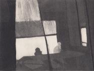 Staub IX, Kaltnadelstich/Aquatinta, ca. 10x15 cm