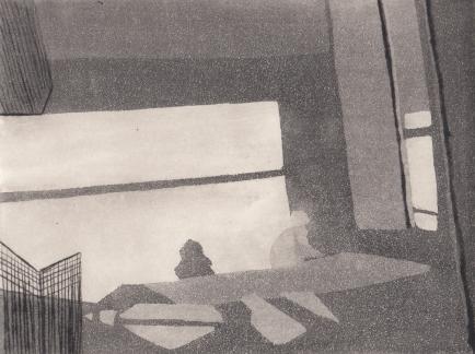 Staub XIII, Kaltnadelstich/Aquatinta, ca. 10x15 cm